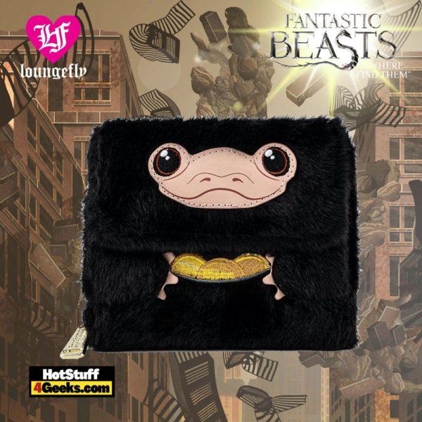 Loungefly Fantastic Beasts Niffler Plush Wallet