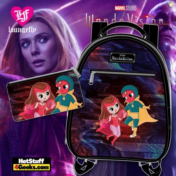 Loungefly Marvel Wanda Vision Chibi Mini Backpack and Wallet - March 2021 pre-orders coming on April 2021
