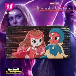 Loungefly Marvel Wanda Vision Chibi Wallet