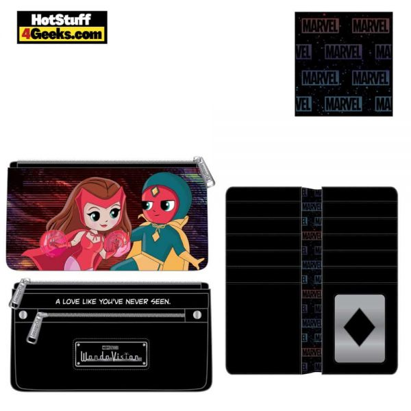 Loungefly Marvel Wanda Vision Chibi Wallet - March 2021 pre-orders coming on April 2021