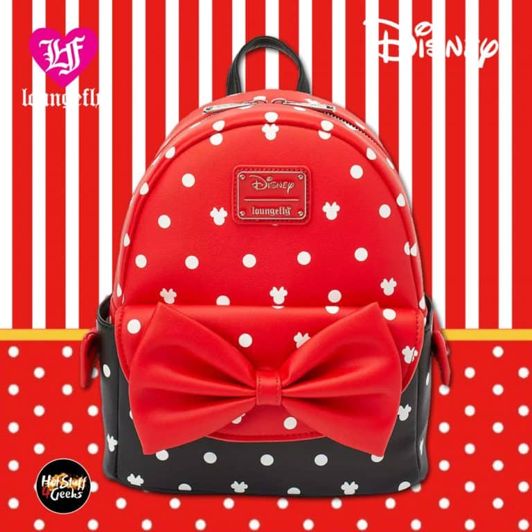 Loungefly Minnie Mouse Bow Mini Backpack