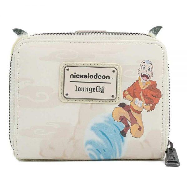 Loungefly Nickelodeon Avatar Aang Appa Cosplay Plush Zip Around Wallet