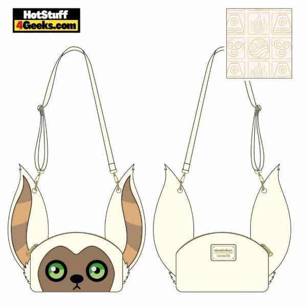 Loungefly Nickelodeon: Avatar Mono Cosplay Crossbody - March 2021 pre-orders coming on April 2021