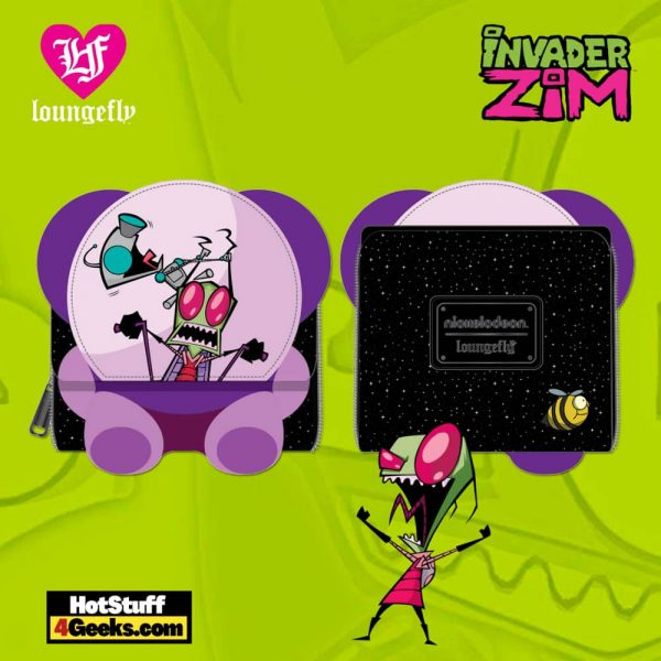 Loungefly Nickelodeon: Invader Zim Doom Mobile Trifold Wallet - March 2021 pre-orders coming on April 2021