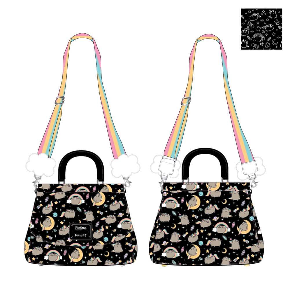 Loungefly Pusheen Rainbow Unicorn Crossbody Bag