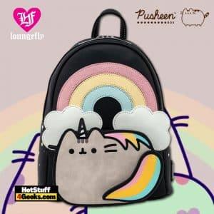 Loungefly Pusheen Rainbow Unicorn Mini Backpack