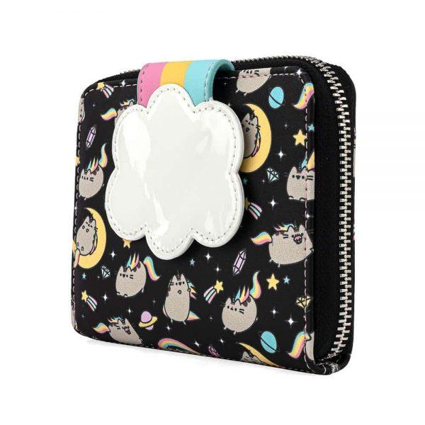 Loungefly Pusheen Rainbow Unicorn Zip Around Wallet
