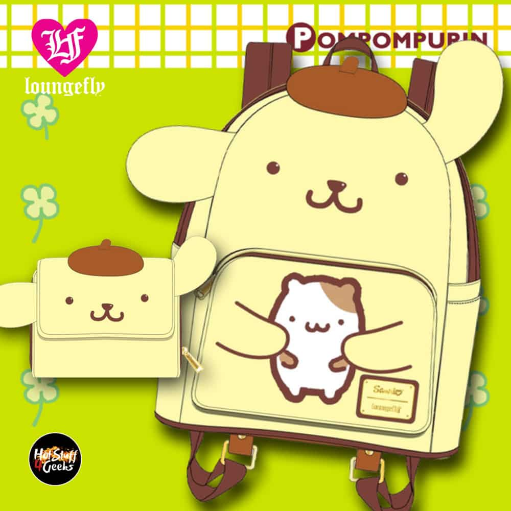 Loungefly Sanrio Pompompurin February 2021 pre-orders coming March 2021
