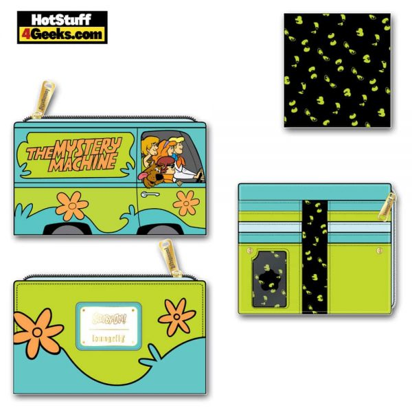 Loungefly Scooby-Doo: Mystery Machine Flap Wallet - March 2021 pre-orders coming on April 2021