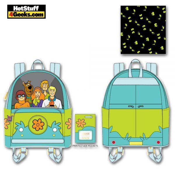 Loungefly Scooby-Doo: Mystery Machine Mini Backpack - March 2021 pre-orders coming on April 2021