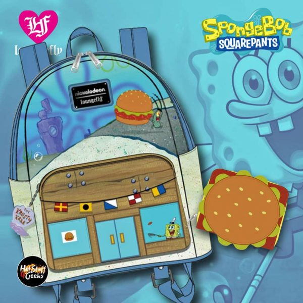 Loungefly Spongebob Squarepants February 2021 pre-orders coming March 2021