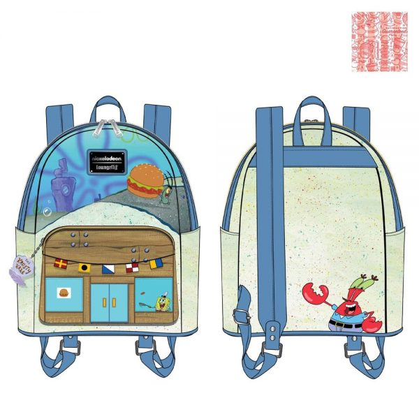 Loungefly Spongebob Squarepants Krusty Krab Mini Backpack