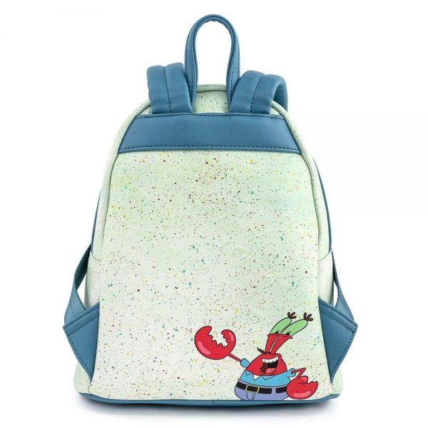 Loungefly Spongebob Squarepants Krusty Krab Mini Backpack