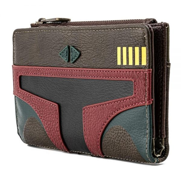 Loungefly Star Wars: Boba Fett Flap Wallet - March 2021 pre-orders coming on April 2021.