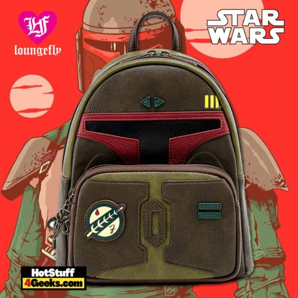 Loungefly Star Wars: Boba Fett He's No Good to Me Dead Cosplay Mini Backpack - March 2021 pre-orders coming on April 2021.