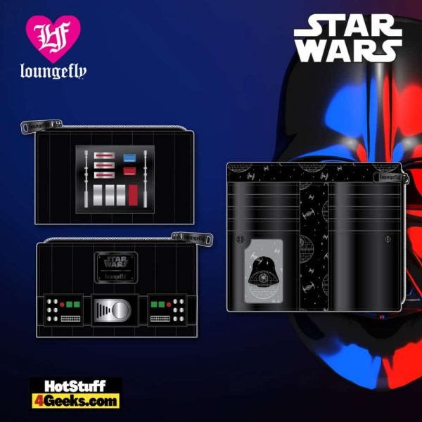 Loungefly Star Wars: Darth Vader Cosplay Wallet - March 2021 pre-orders coming on April 2021
