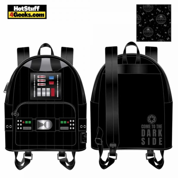 Loungefly Star Wars: Darth Vader Light Up Cosplay Mini Backpack - March 2021 pre-orders coming on April 2021