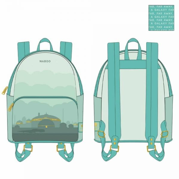 Loungefly Star Wars Lands Naboo Backpack