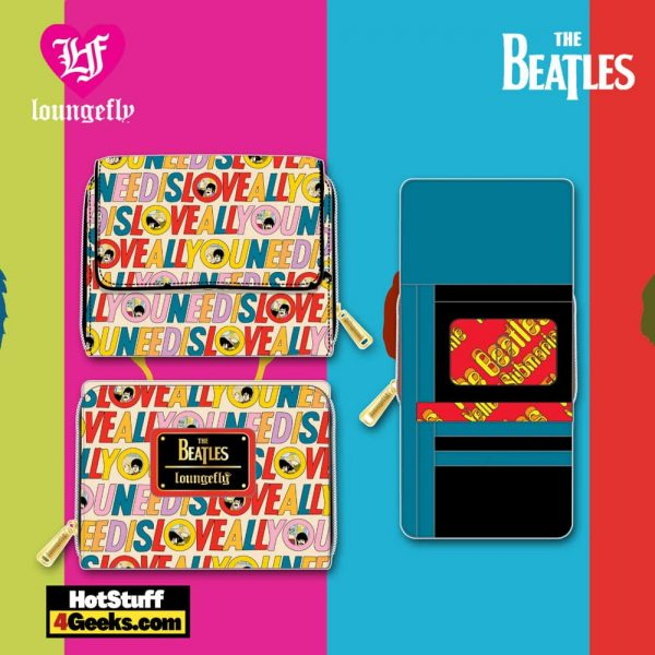 Loungefly The Beatles All You Need is Love Wallet - March 2021 pre-orders coming on April 2021