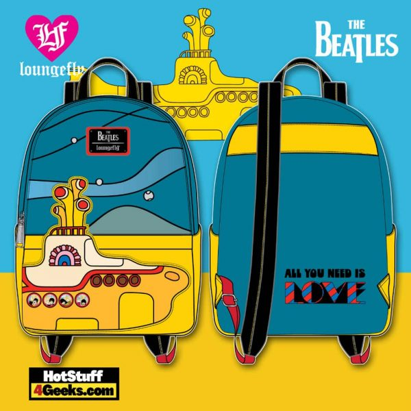 Loungefly The Beatles Yellow Submarine Mini Backpack - March 2021 pre-orders coming on April 2021