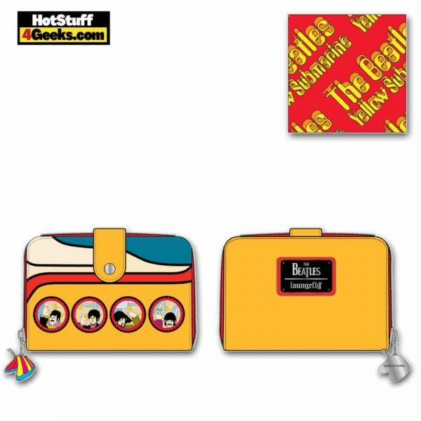 Loungefly The Beatles Yellow Submarine Zip Around Wallet - March 2021 pre-orders coming on April 2021