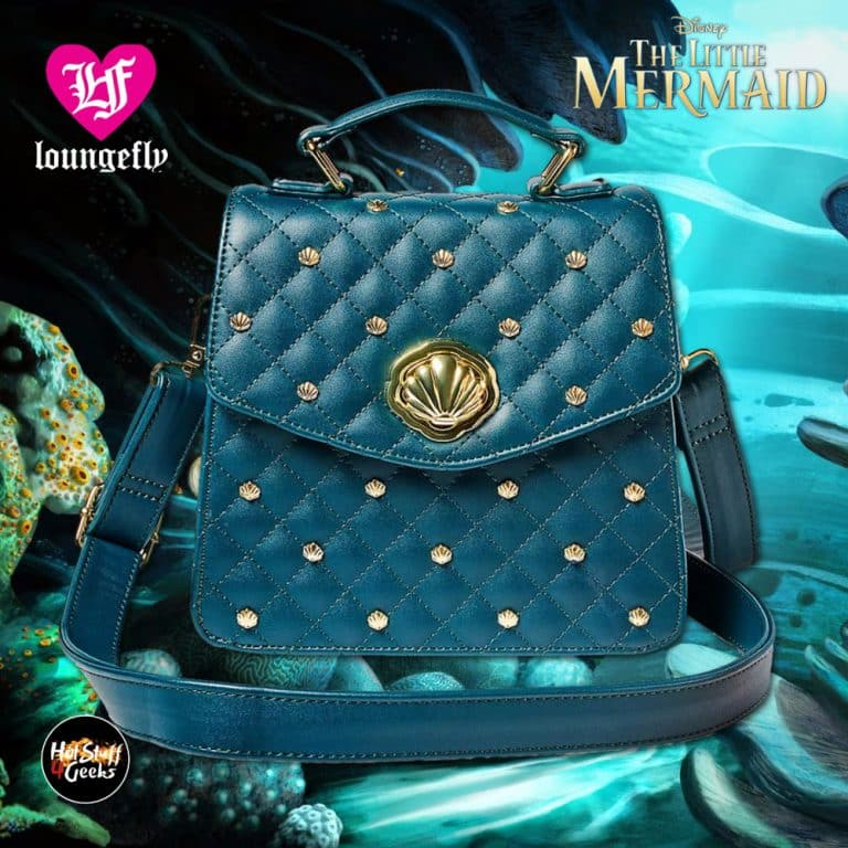 Loungefly The Little Mermaid Ariel Crossbody Bag – Disney Parks Exclusive