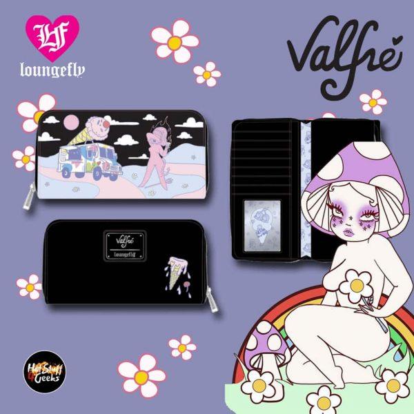 Loungefly Valfre Lucy Ice Cream Truck Zip Around Wallet