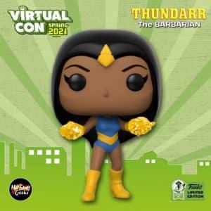 Funko Pop! Animation: Thundarr The Barbarian - Princess Ariel Funko Pop! Vinyl Figure - Funko Virtual Con Spring 2021, ECCC 2021, Spring Convention 2021, and Funko Shop Exclusive