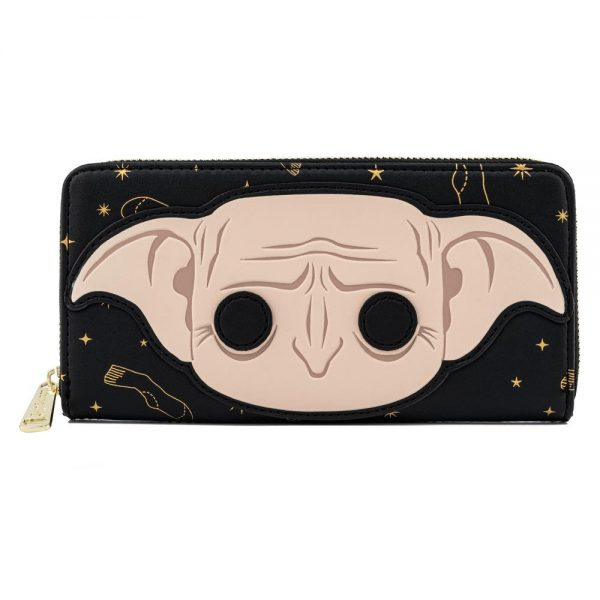 Pop! by Loungefly Harry Potter Dobby Head Zip Around Wallet
