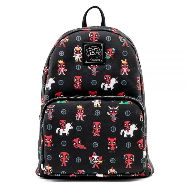 Pop by Loungefly Marvel Deadpool 30th Anniversary AOP Mini Backpack - March 2021 pre-orders coming on April 2021