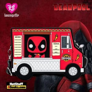Pop by Loungefly Marvel Deadpool 30th Anniversary Chimichangas Crossbody