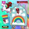 Pop by Loungefly Marvel Deadpool 30th Anniversary Unicorn Rainbow Mini Backpack and Cardholder - March 2021 pre-orders coming on April 2021