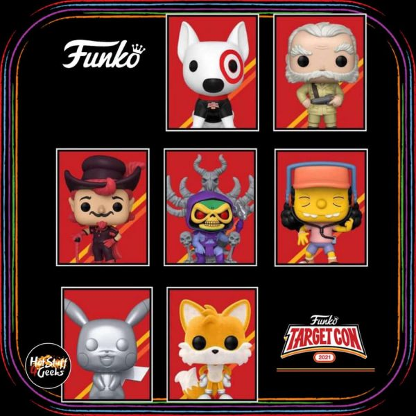 Target Con 2021 Limited Edition Exclusives