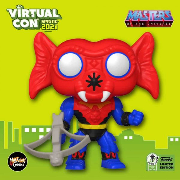 Funko Pop! Retro Toys: Masters of the Universe: Mantenna Funko Pop! Vinyl Figure - ECCC 2021 and Walmart Shop Shared Exclusive