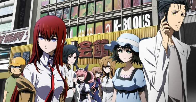 Top 10 Essential Anime for Death Note Fans - Steins;Gate, 2011