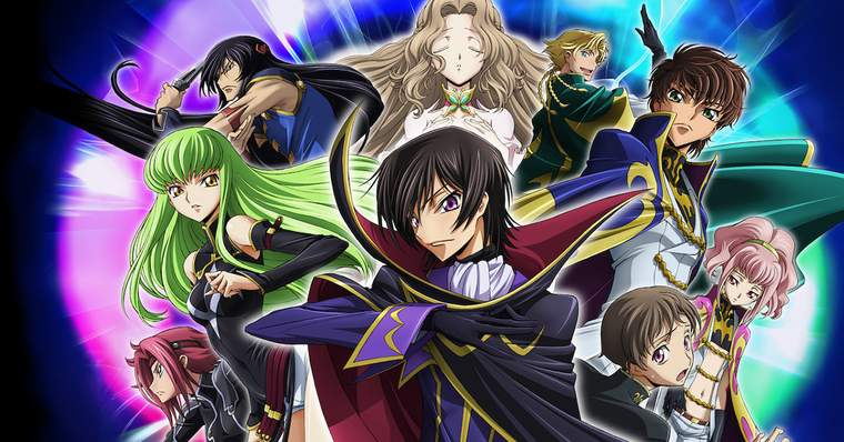 Top 10 Essential Anime for Death Note Fans - Code Geass, 2007