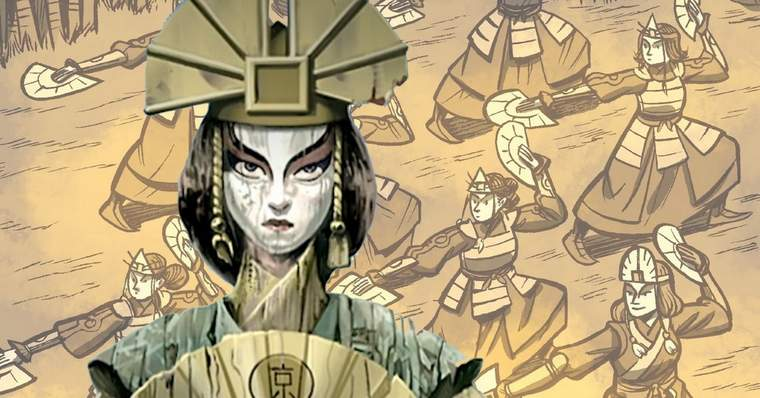 10 Things We Want to See in the Avatar New Animated Series - Avatar Kyoshi and her warriors