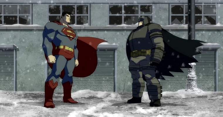 Batman The Dark Knight Returns - Parts 1 & 2 (2012 and 2013)