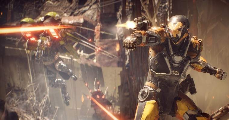 The 13 Biggest Video Game Flops of the Last 10 Years - Anthem (2019)