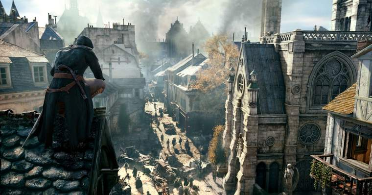 The 13 Biggest Video Game Flops of the Last 10 Years - Assassin's Creed Unity (2014)