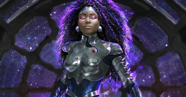 Blackfire: All About the DC Comics Character - Live-action