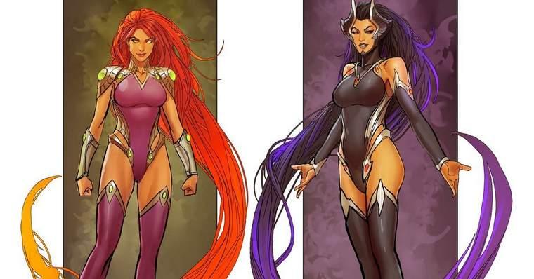 Blackfire: All About the DC Comics Character - Sisterhood Rivalry