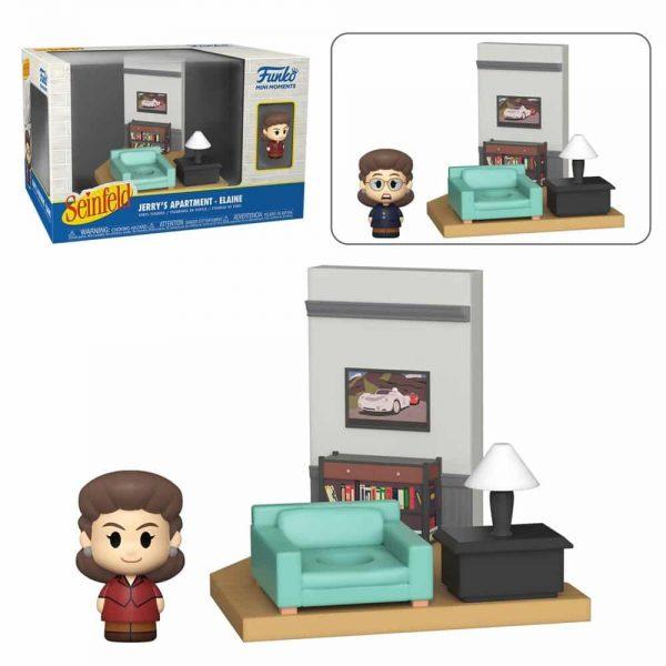 Funko Mini Moments Seinfeld - Elaine Mini-Figure Diorama Playset