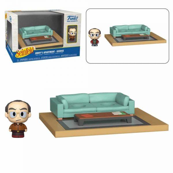 Funko Mini Moments Seinfeld - George Mini-Figure Diorama Playset