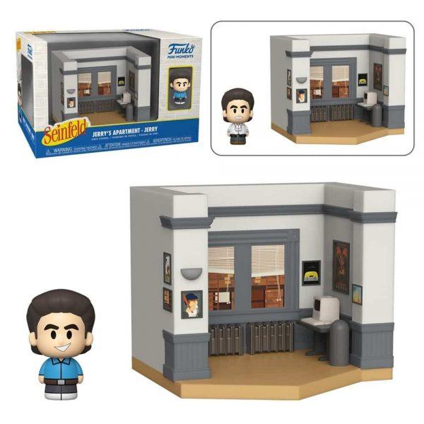 Funko Mini Moments Seinfeld - Jerry Mini-Figure Diorama Playset