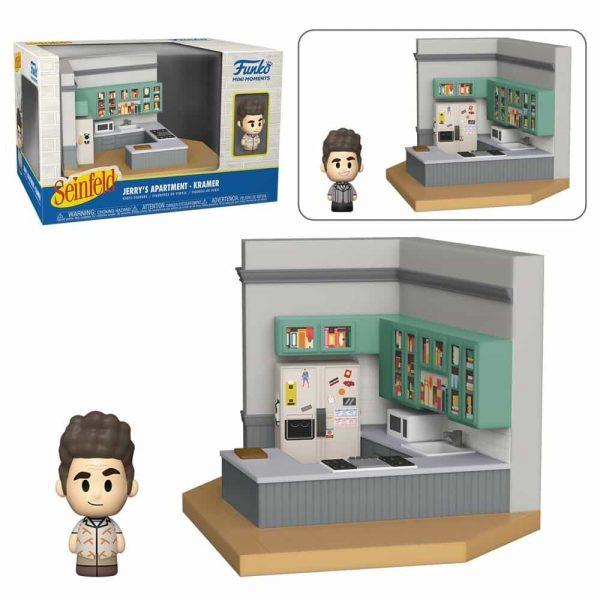 Funko Mini Moments Seinfeld - Kramer Mini-Figure Diorama Playset