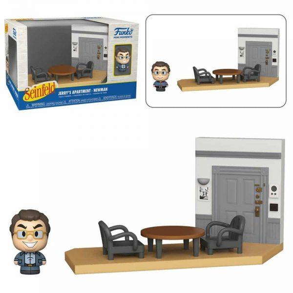 Funko Mini Moments Seinfeld - Newman Mini-Figure Diorama Playset