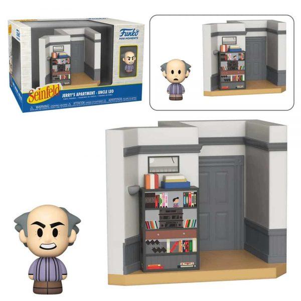 Funko Mini Moments Seinfeld - Uncle Leo Mini-Figure Diorama Playset