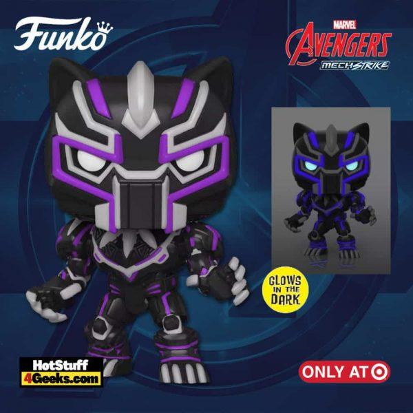 Funko POP! Marvel Avengers Mech Strike: Black Panther Glow In The Dark (GITD) Funko Pop! Vinyl Figure - Target Exclusive