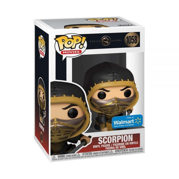 Funko POP! Movies: Mortal Kombat - Scorpion (Action Pose) Funko Pop! Vinyl Figure - Walmart Exclusive